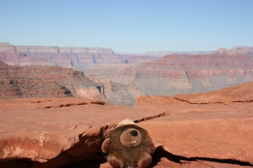 Jean LeCastor visits the Grand Canyon.