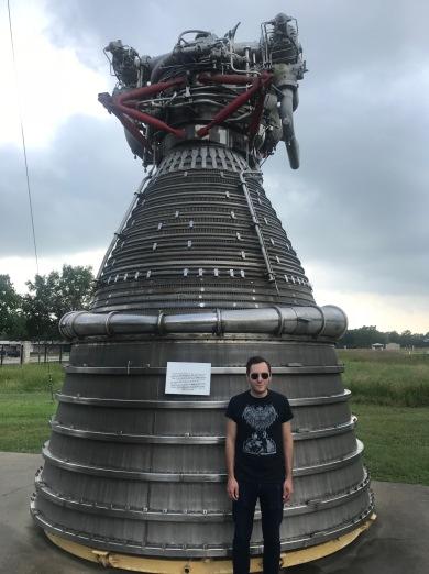 F-1 rocket engine for the Saturn V rocket.