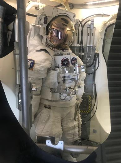 Astronaut suit for extravhicular activities.