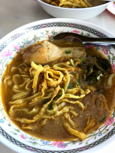 Khao Soi, a curried noodle soup, is the unofficial dish of Chiang Mai.