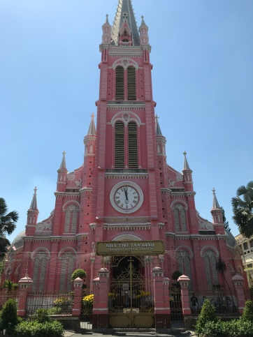 The pinkest church ever.