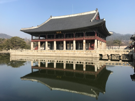 Festival building at Gyeongbokgung Palace.