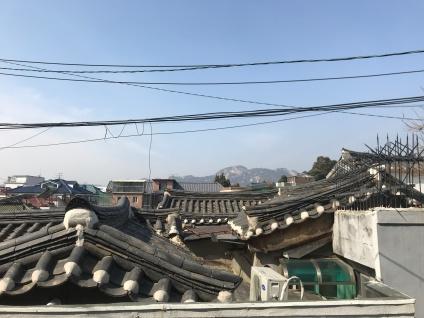 Rooftops of Hanok Village