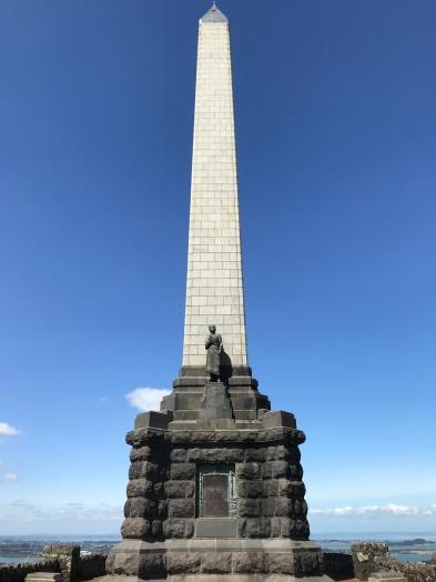 Monument erected in honour of Sir John Logan Campbell.