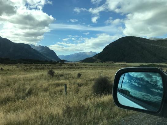 Entering Fiordland.
